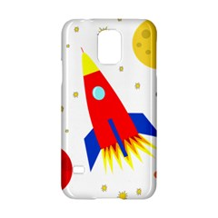 Transparent spaceship Samsung Galaxy S5 Hardshell Case