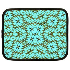 Fake Sky Night Netbook Case (large)