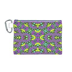 VIOLET VIOLIN Canvas Cosmetic Bag (M)