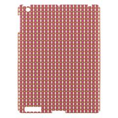 Mod Pink Green Pattern Apple iPad 3/4 Hardshell Case