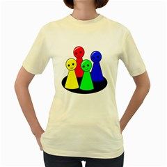 Don t get angry Women s Yellow T-Shirt