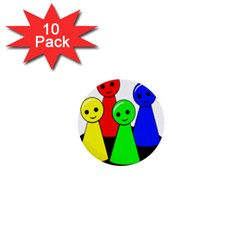 Don t get angry 1  Mini Buttons (10 pack)