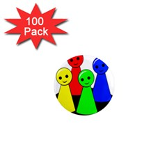 Don t get angry 1  Mini Magnets (100 pack)