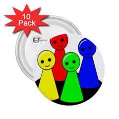 Don t get angry 2.25  Buttons (10 pack)