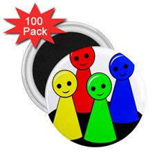 Don t get angry 2.25  Magnets (100 pack)
