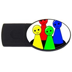 Don t get angry USB Flash Drive Oval (2 GB)