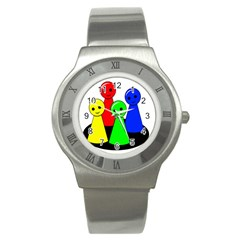 Don t get angry Stainless Steel Watch