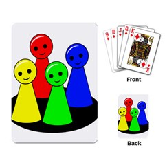 Don t get angry Playing Card