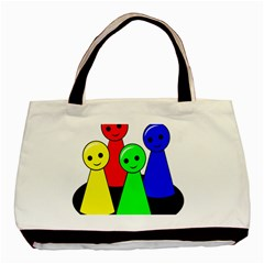 Don t get angry Basic Tote Bag (Two Sides)