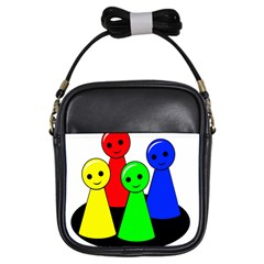 Don t get angry Girls Sling Bags