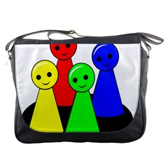 Don t get angry Messenger Bags