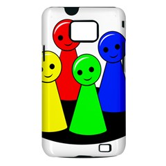 Don t get angry Samsung Galaxy S II i9100 Hardshell Case (PC+Silicone)