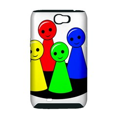 Don t get angry Samsung Galaxy Note 2 Hardshell Case (PC+Silicone)