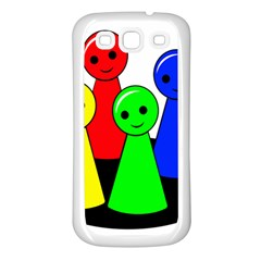 Don t get angry Samsung Galaxy S3 Back Case (White)