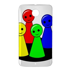 Don t get angry Nexus 6 Case (White)