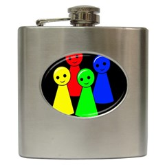 Don t get angry Hip Flask (6 oz)