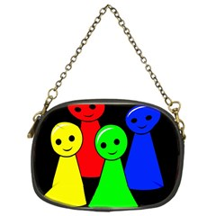 Don t get angry Chain Purses (One Side)