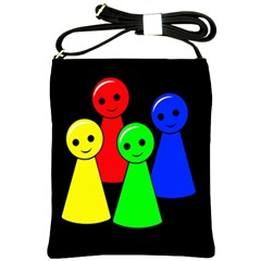 Don t get angry Shoulder Sling Bags