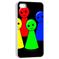 Don t get angry Apple iPhone 4/4s Seamless Case (White)
