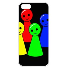 Don t get angry Apple iPhone 5 Seamless Case (White)