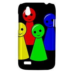 Don t get angry HTC Desire V (T328W) Hardshell Case