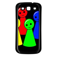 Don t get angry Samsung Galaxy S3 Back Case (Black)