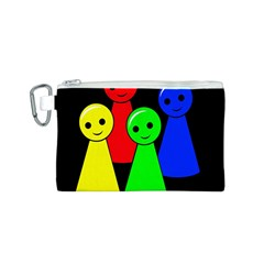 Don t get angry Canvas Cosmetic Bag (S)