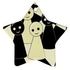Chess pieces Ornament (Star)