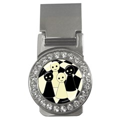 Chess pieces Money Clips (CZ)