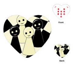 Chess pieces Playing Cards (Heart)