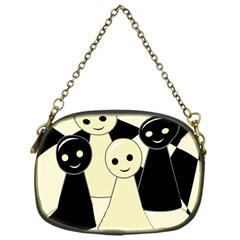 Chess pieces Chain Purses (One Side)