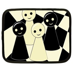 Chess pieces Netbook Case (XXL)