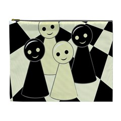 Chess pieces Cosmetic Bag (XL)