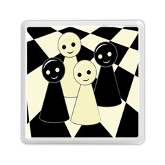 Chess pieces Memory Card Reader (Square)