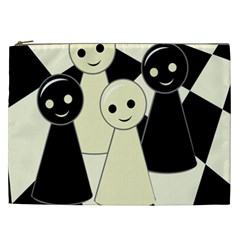 Chess pieces Cosmetic Bag (XXL)