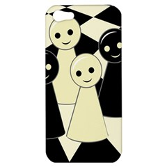 Chess pieces Apple iPhone 5 Hardshell Case