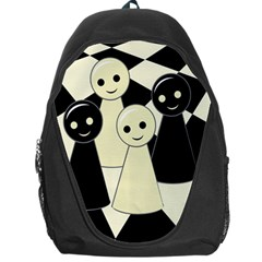 Chess pieces Backpack Bag