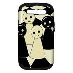 Chess pieces Samsung Galaxy S III Hardshell Case (PC+Silicone)