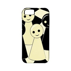 Chess pieces Apple iPhone 5 Classic Hardshell Case (PC+Silicone)