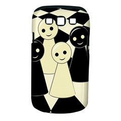 Chess pieces Samsung Galaxy S III Classic Hardshell Case (PC+Silicone)