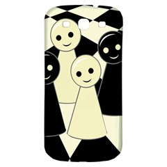 Chess pieces Samsung Galaxy S3 S III Classic Hardshell Back Case