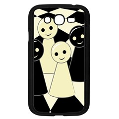 Chess pieces Samsung Galaxy Grand DUOS I9082 Case (Black)