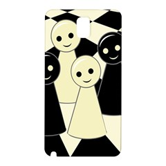 Chess pieces Samsung Galaxy Note 3 N9005 Hardshell Back Case
