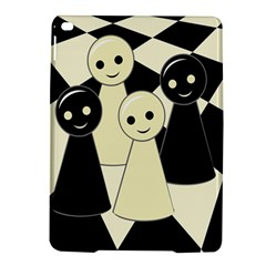 Chess pieces iPad Air 2 Hardshell Cases