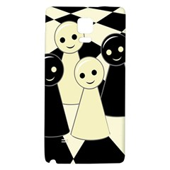 Chess pieces Galaxy Note 4 Back Case