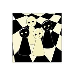 Chess pieces Satin Bandana Scarf