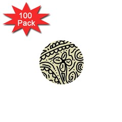 Artistic abstraction 1  Mini Buttons (100 pack)