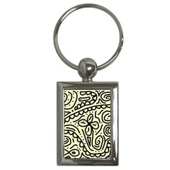 Artistic abstraction Key Chains (Rectangle)