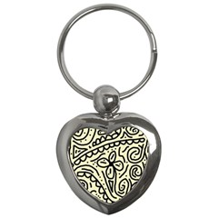 Artistic abstraction Key Chains (Heart)
