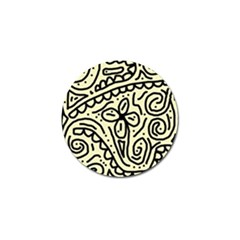 Artistic abstraction Golf Ball Marker (4 pack)